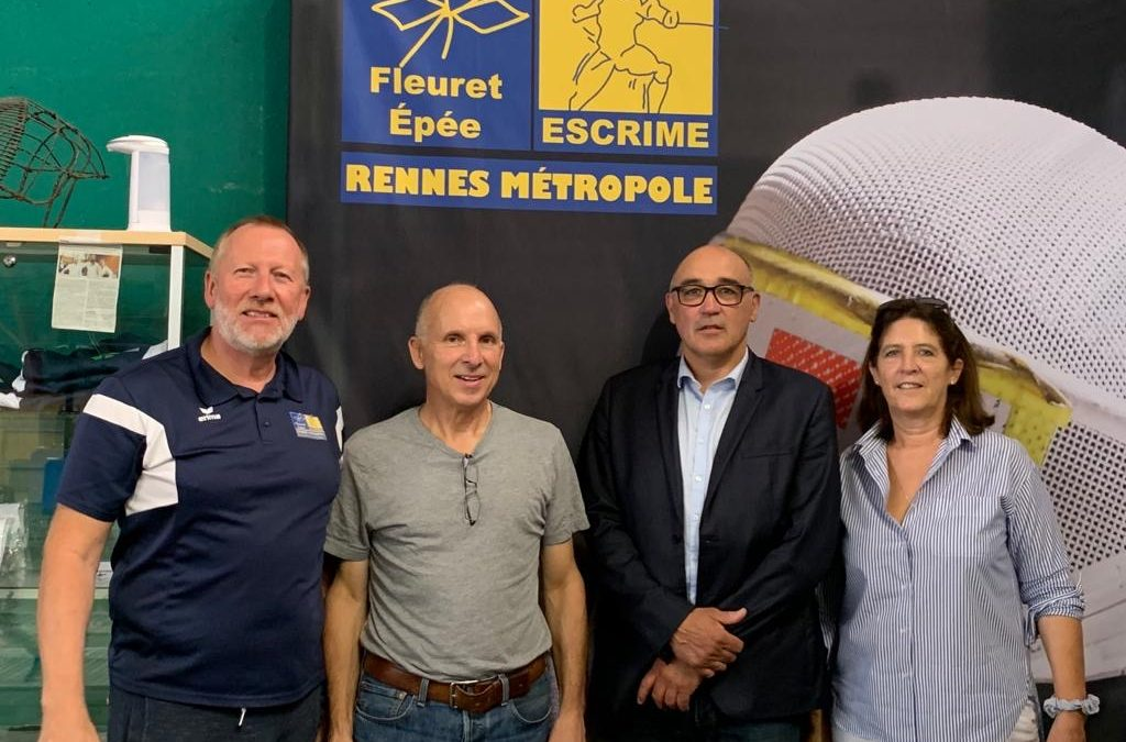 Visite d'une équipe candidate aux élection de la FFE
