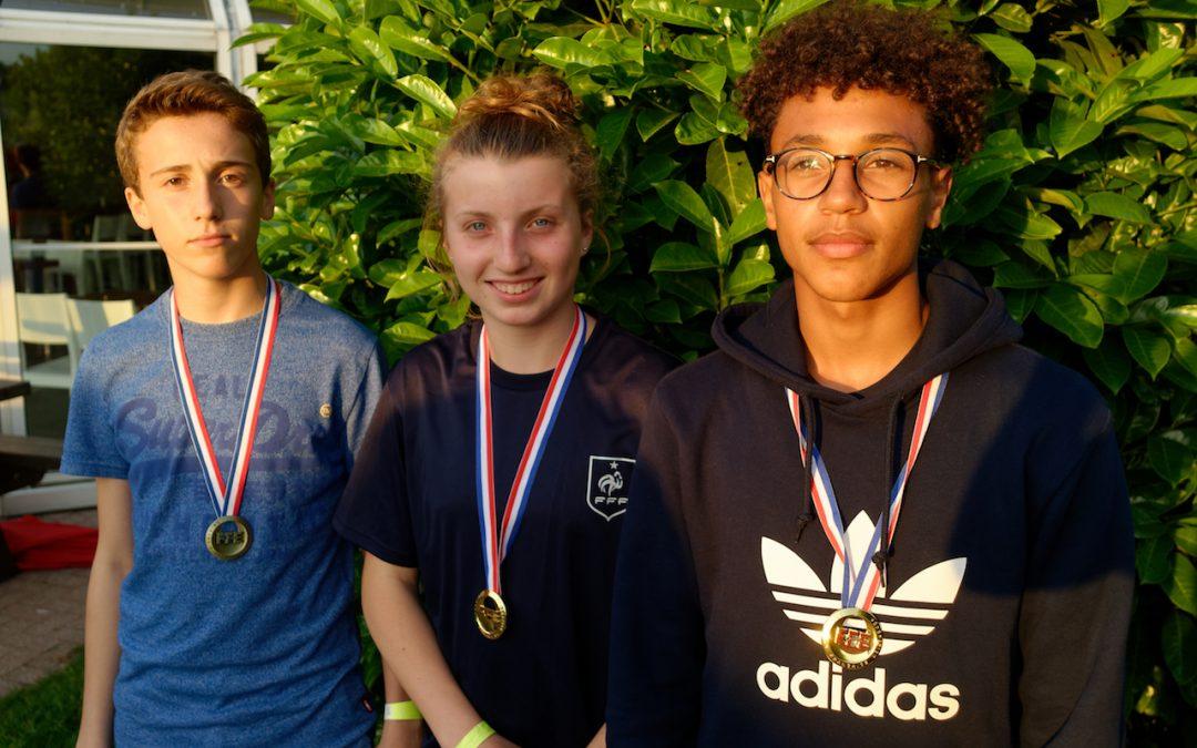 3 médailles de plus aux championnats de France 2018
