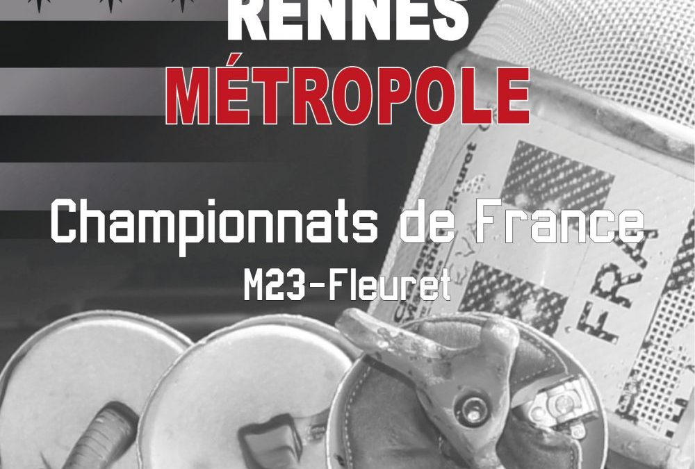 Organisation du championnat de France U23 fleuret