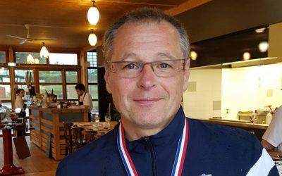 Médaille d'argent pour François Szuba au championnat de France Vétéran Fleuret à Limoges
