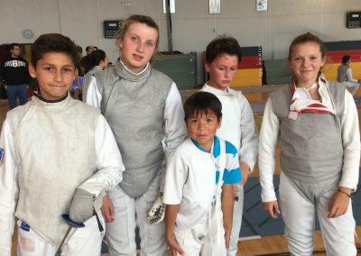 Participants challenge de Poitiers