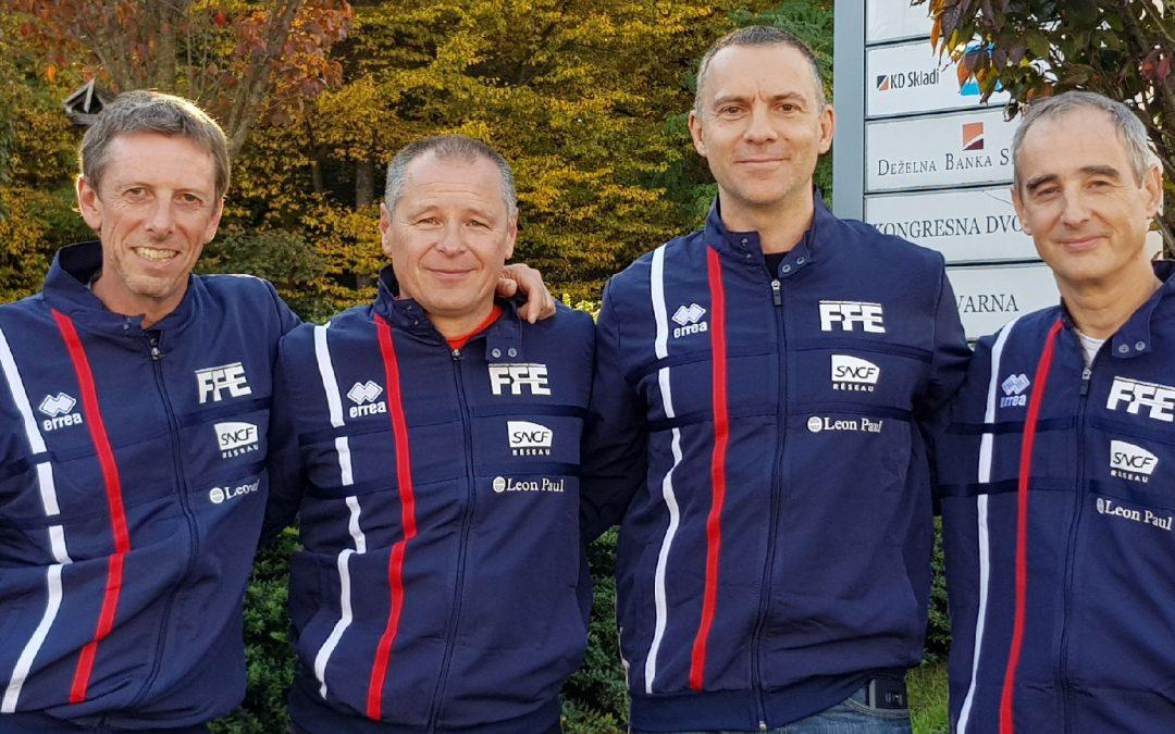 L'équipe de France Veterans fleuret à Maribor