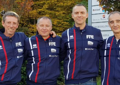 Équipe de France Veteran fleuret à Maribor