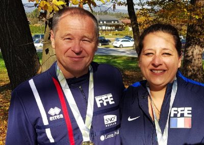 Medaille d'or Championnat du monde Vétéran Maribor Oct 2017